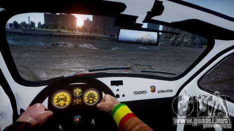 Fiat Abarth 595 SS 1968 para GTA 4 left