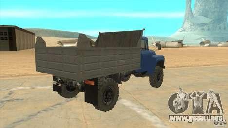 ZIL-MMZ 4502 tracción para la visión correcta GTA San Andreas