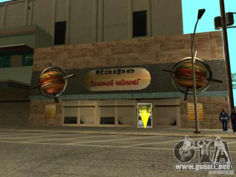 Nuevo Burgershot: ČajničeG oro para GTA San Andreas