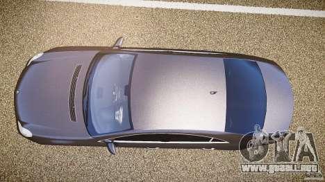 Mercedes-Benz CLS 63 para GTA 4 vista hacia atrás