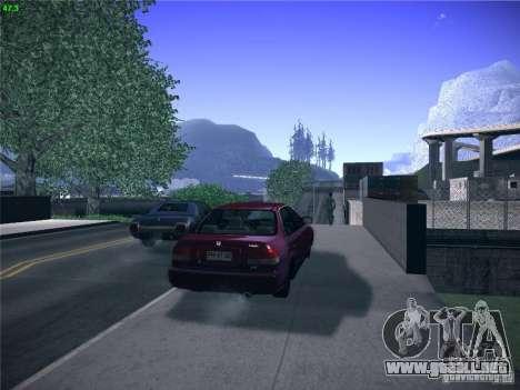 Honda Civic Sedan 1997 para GTA San Andreas left