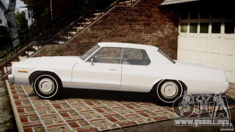 Dodge Monaco 1974 para GTA 4 left