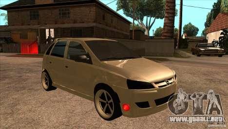 Opel Corsa Tuning Edition para GTA San Andreas vista hacia atrás