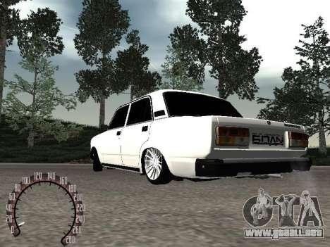 VAZ 2107 BPAN para GTA San Andreas left