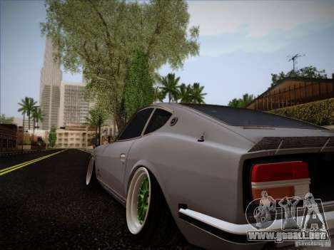 Nissan 280 Fairladyz 4.32 para GTA San Andreas left