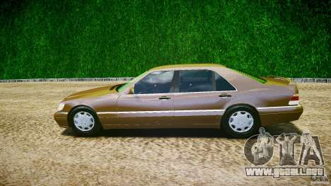 Mercedes Benz SL600 W140 98 performance shafter para GTA 4 left