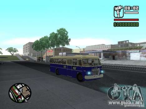 Ikarus 630 para visión interna GTA San Andreas