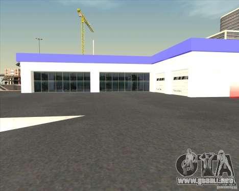 AMG showroom para GTA San Andreas tercera pantalla