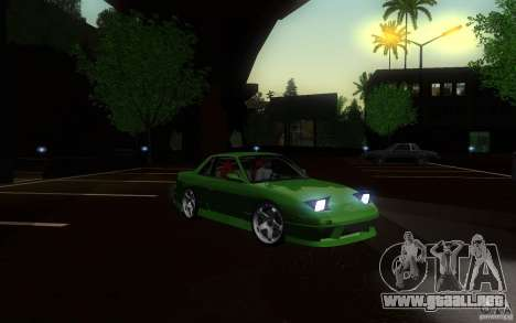 Nissan Silvia S13 Onevia para visión interna GTA San Andreas
