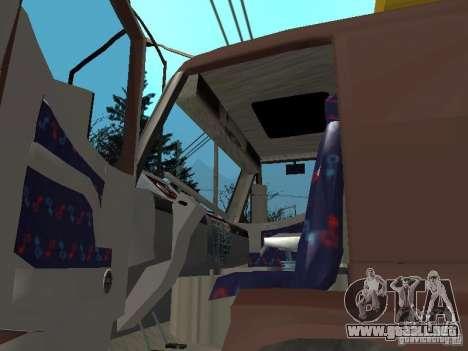 BMC para GTA San Andreas vista hacia atrás