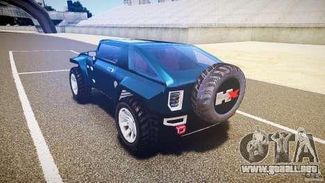 Hummer HX para GTA 4 Vista posterior izquierda