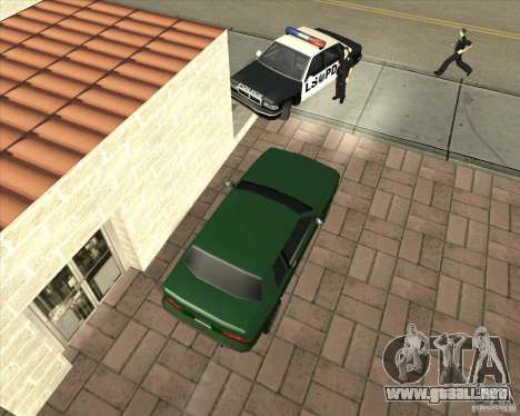 Car in Grove Street para GTA San Andreas