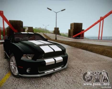 ENBSeries by ibilnaz v 2.0 para GTA San Andreas octavo de pantalla