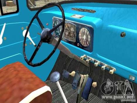 ZIL 130-431410 Final para GTA 4 vista interior