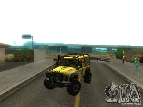 Land Rover Defender Off-Road para GTA San Andreas