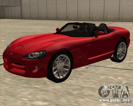 Dodge Viper SRT-10 Roadster para GTA San Andreas