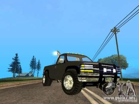 Chevrolet Silverado 2012 para GTA San Andreas