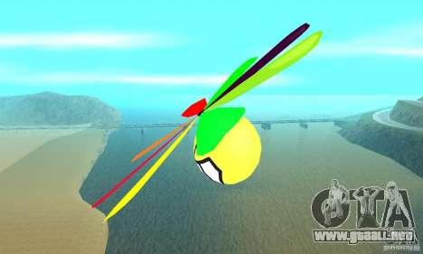 Smiley en el cielo para la visión correcta GTA San Andreas