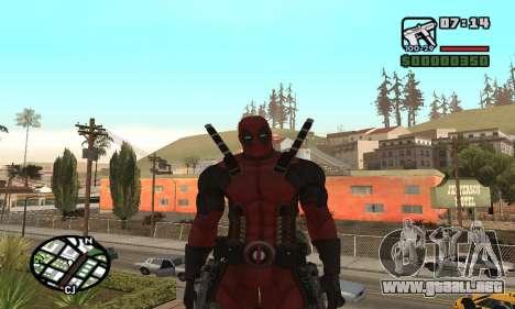 Dead Pool para GTA San Andreas tercera pantalla