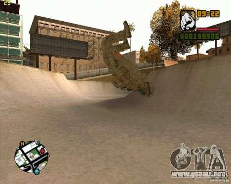 Parkour discipline beta 2 (full update by ACiD) para GTA San Andreas quinta pantalla