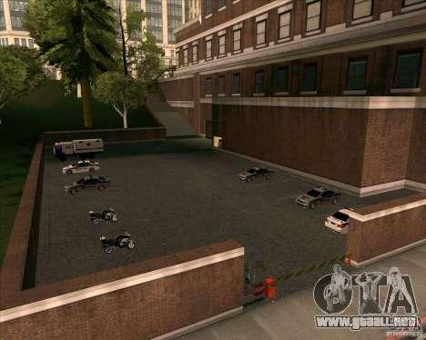 Priparkovanyj transporte v1.0 para GTA San Andreas séptima pantalla