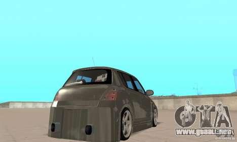 Suzuki Swift Tuning para GTA San Andreas left