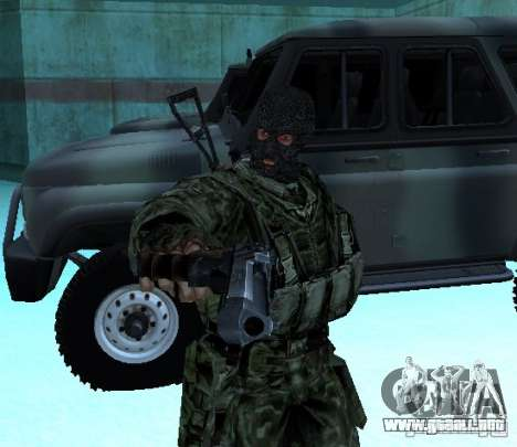 Stalker Shadow of Chernobyl SWAT OGSE para GTA San Andreas