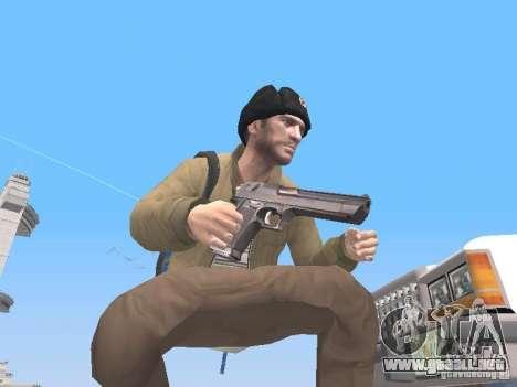 HQ Weapons pack V2.0 para GTA San Andreas segunda pantalla