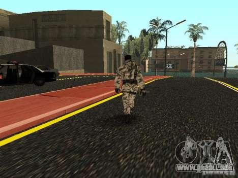 Vengador del Ártico para GTA San Andreas tercera pantalla