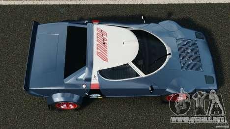 Lancia Stratos v1.1 para GTA 4 visión correcta