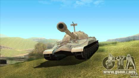 IS-7 Heavy Tank para GTA San Andreas