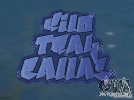 New LS gang tags para GTA San Andreas sucesivamente de pantalla