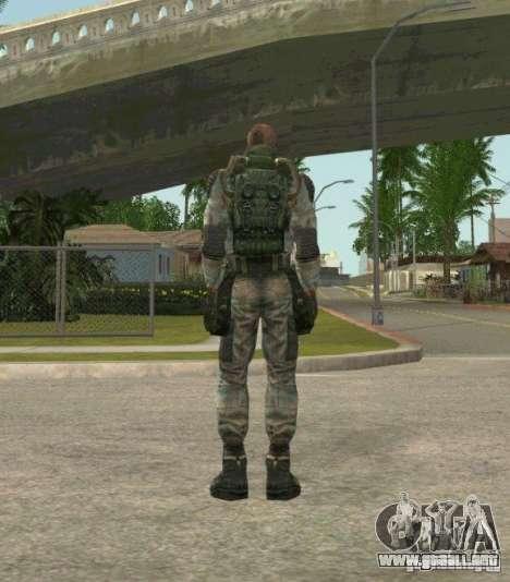 Lebedev de S.T.A.L.K.E.R. clear sky para GTA San Andreas tercera pantalla
