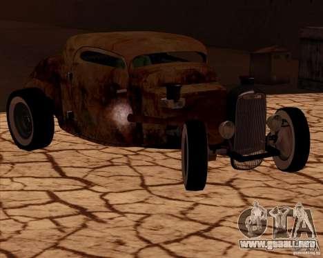 Ford Rat Rod para GTA San Andreas vista posterior izquierda