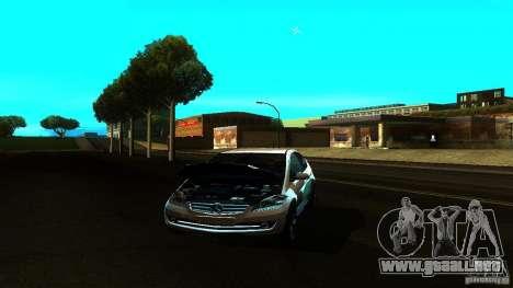 Mercedes-Benz A200 Turbo para GTA San Andreas vista hacia atrás