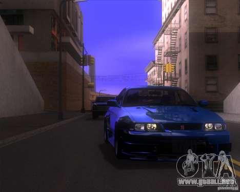 ENBSeries by LeRxaR v4.0 para GTA San Andreas sucesivamente de pantalla