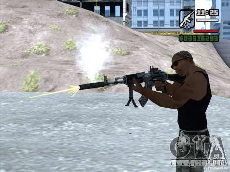 AK-103 de WARFACE para GTA San Andreas