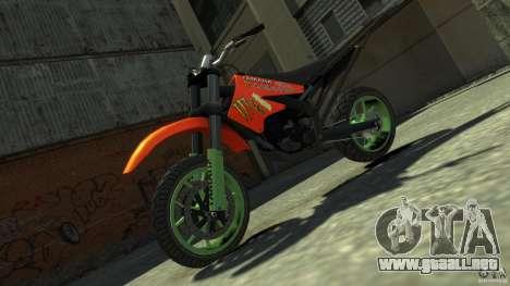 Stunt Supermotard Sanchez para GTA 4 visión correcta