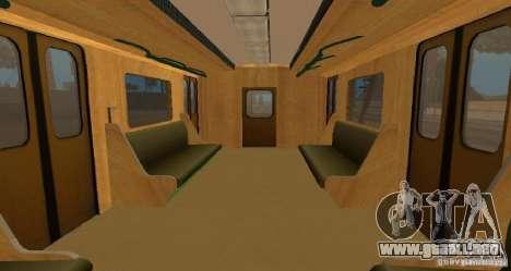 Metro tipo erizo para visión interna GTA San Andreas