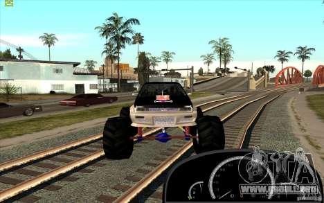 Jetta Monster Truck para la visión correcta GTA San Andreas