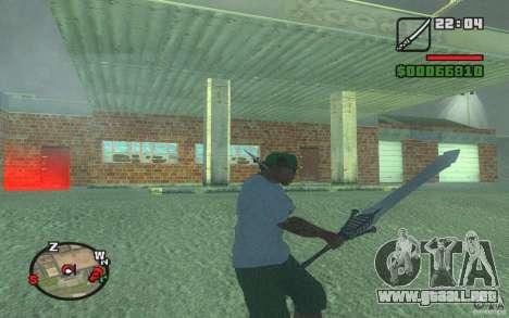 Espada de Dante de DMC 3 para GTA San Andreas
