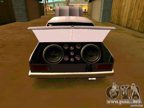 Chevrolet Chevette 1976 TDW Edit para la visión correcta GTA San Andreas