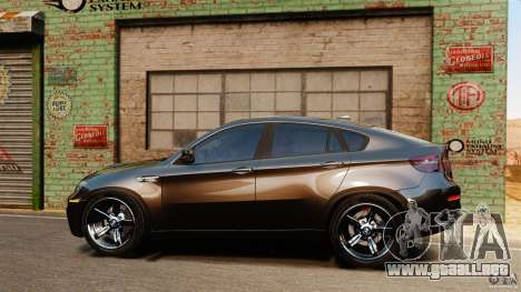 BMW X6 M 2010 para GTA 4 left