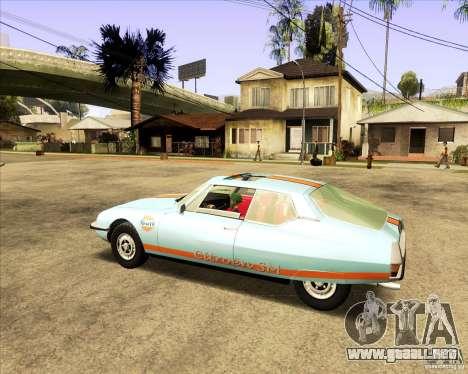 Citroen SM 1971 para la visión correcta GTA San Andreas