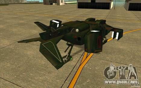 Aliens vs. Predator Marine Drobship para la visión correcta GTA San Andreas