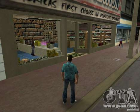New Downtown: Ammu Nation para GTA Vice City segunda pantalla