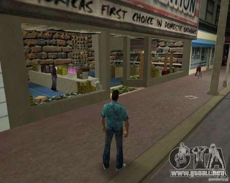New Downtown: Ammu Nation para GTA Vice City segunda pantalla