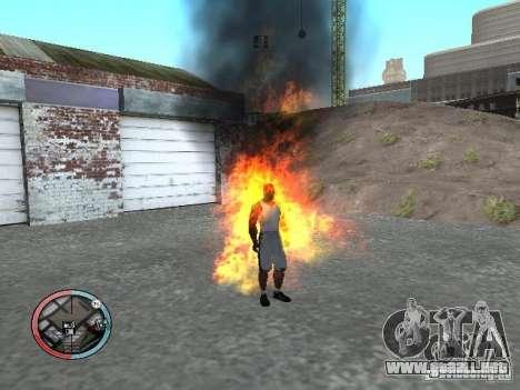 Enmascaramiento para GTA San Andreas tercera pantalla