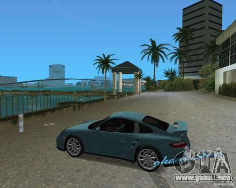 Porsche 911 GT2 para GTA Vice City visión correcta
