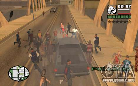 Resident Evil Dead Aim para GTA San Andreas